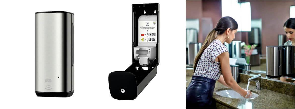 Tork Image Design диспенсер для мыла-пены с сенсором Intuition, система S4 460009