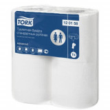 120158 Tork Advanced туалетная бумага в стандартных рулонах, система T4
