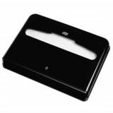 Tork Elevation диспенсер для бумажных покрытий на унитаз, система V1, чёрный 344088