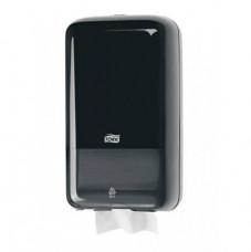 Tork Elevation диспенсер для листовой туалетной бумаги, система T3, чёрный 556008
