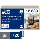Tork 12830 XPN Fit салфетки диспенсерные, крафт, N14